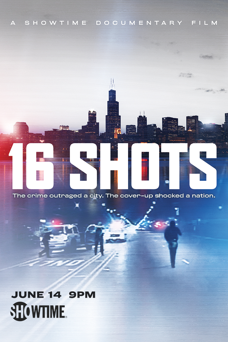 Key art for '16 Shots'