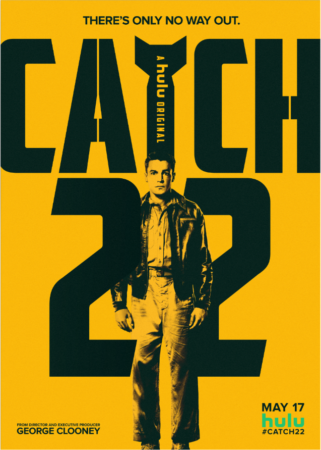 Key art for 'Catch-22' [Hulu].