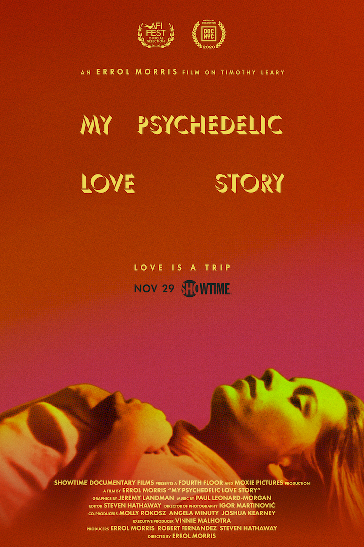 Key art for Showtime's 'My Psychedelic Love Story'