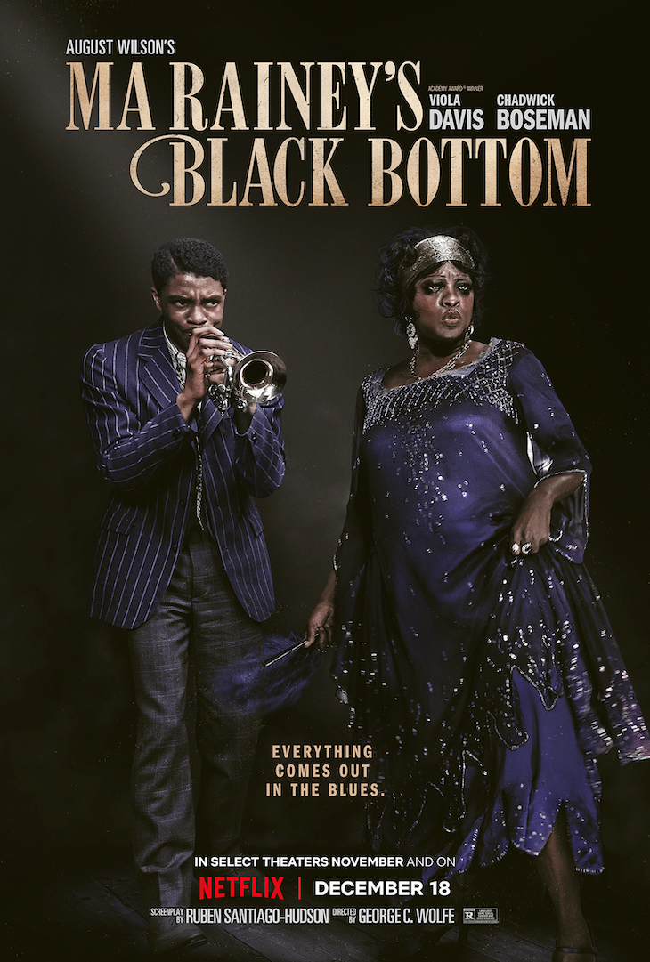 Theatrical poster for Netflix's 'Ma Rainey's Black Bottom'