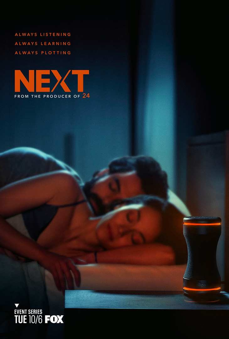 Teaser art for Fox's 'Next'