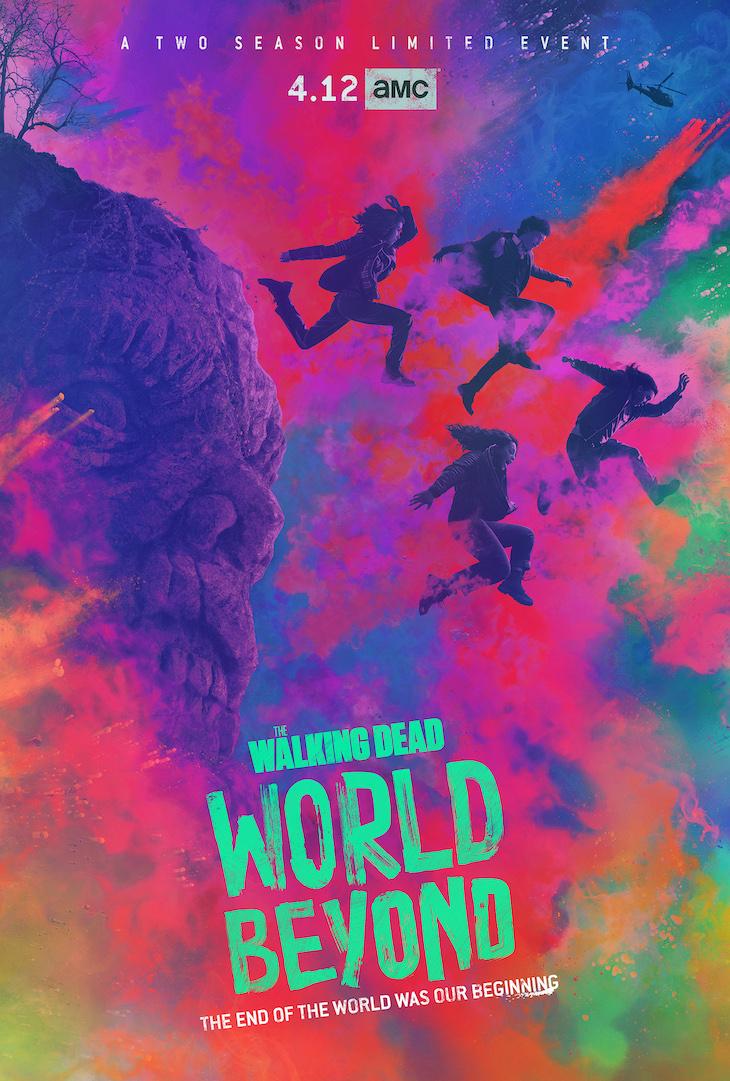 Key art for AMC's 'The Walking Dead: World Beyond'