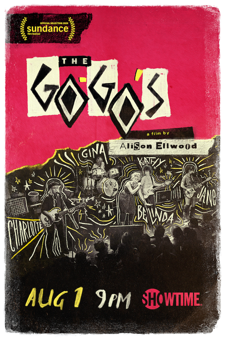 Key art for Showtime's documentary 'The Go-Go's'