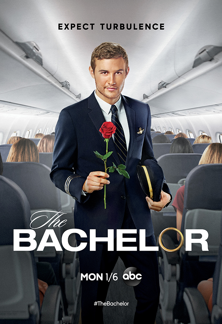 Key art for season 25 of ABC's 'The Bachelor' featuring pilot Peter Weber