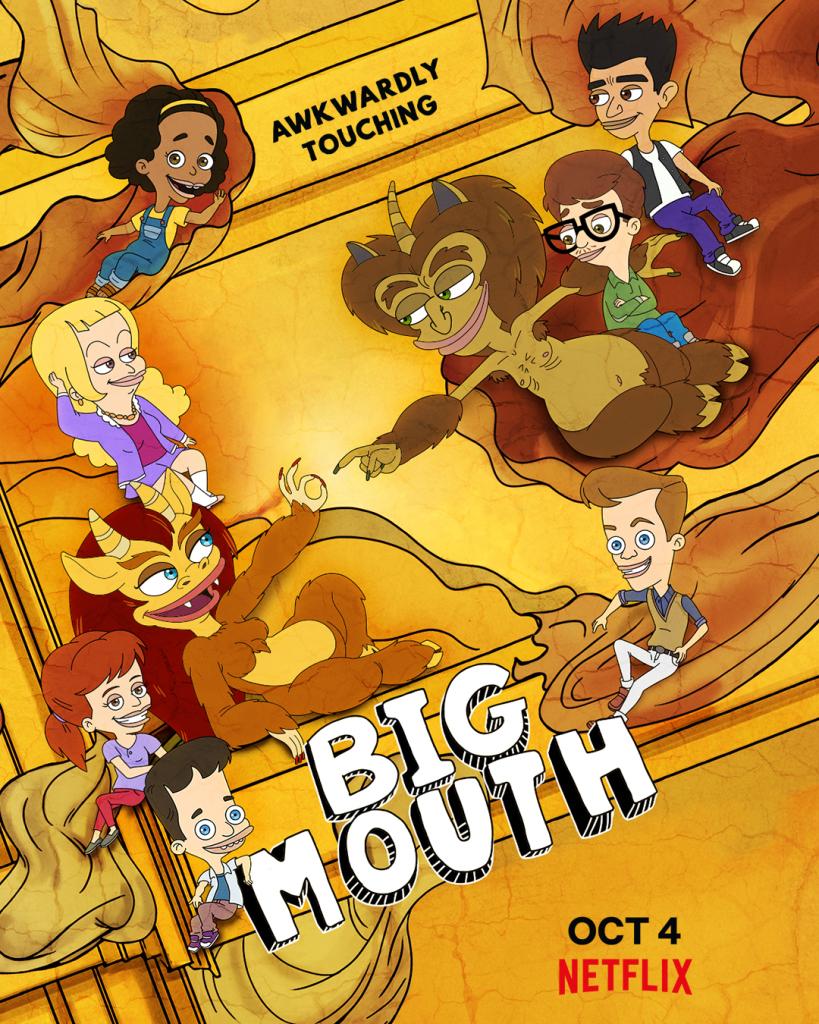 'Big Mouth' season three key art. [Netflix]