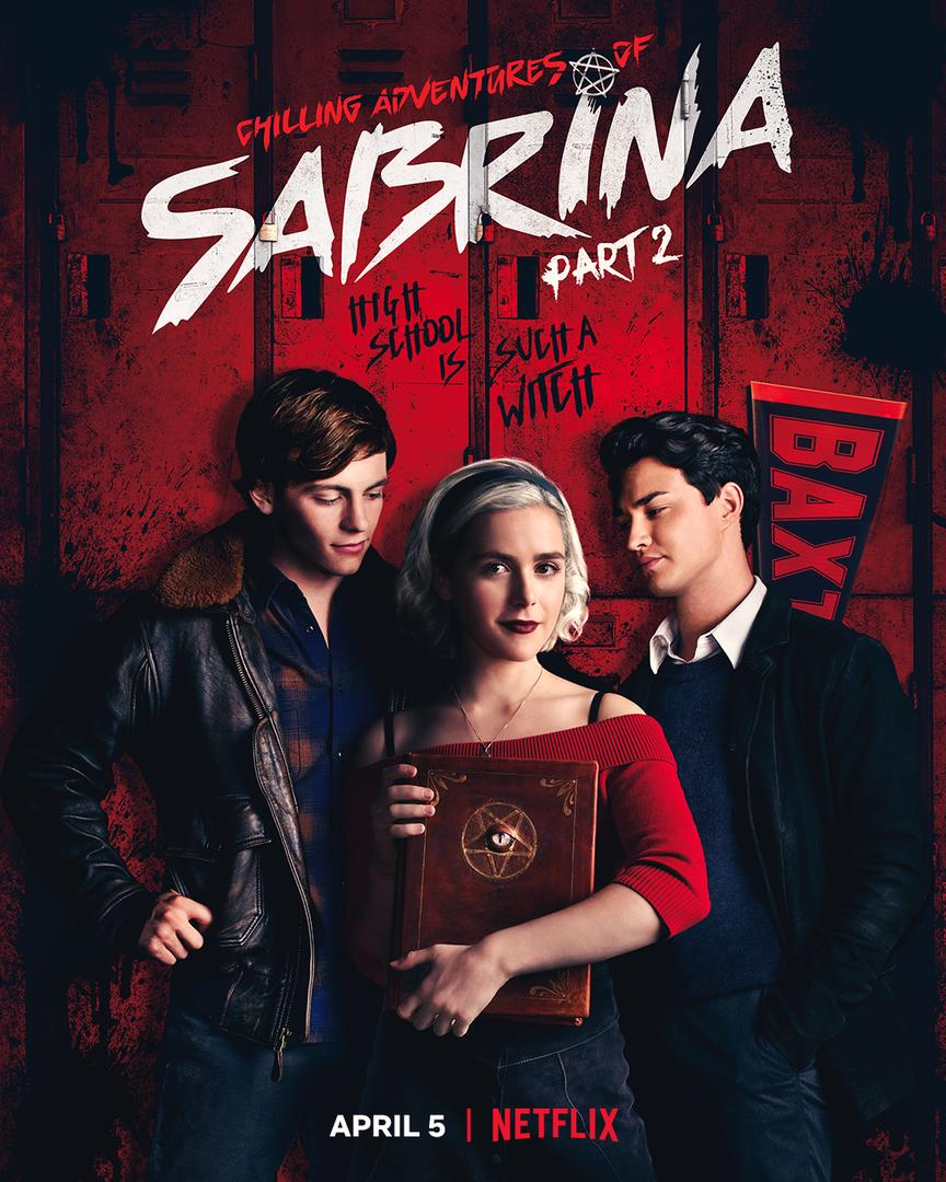'Chilling Adventures of Sabrina: Part 2' key art [Netflix].