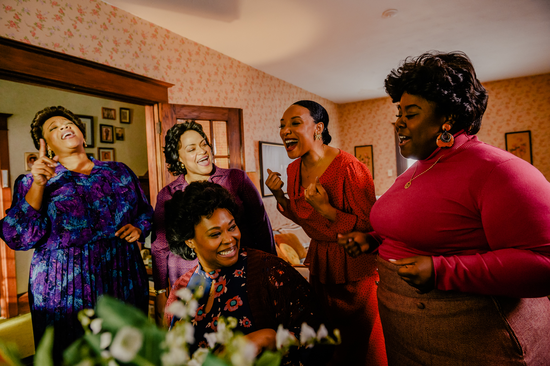 still footage fro 'The Clark Sisters: The First Ladies of Gospel.' (Photo courtesy of A+E Networks)