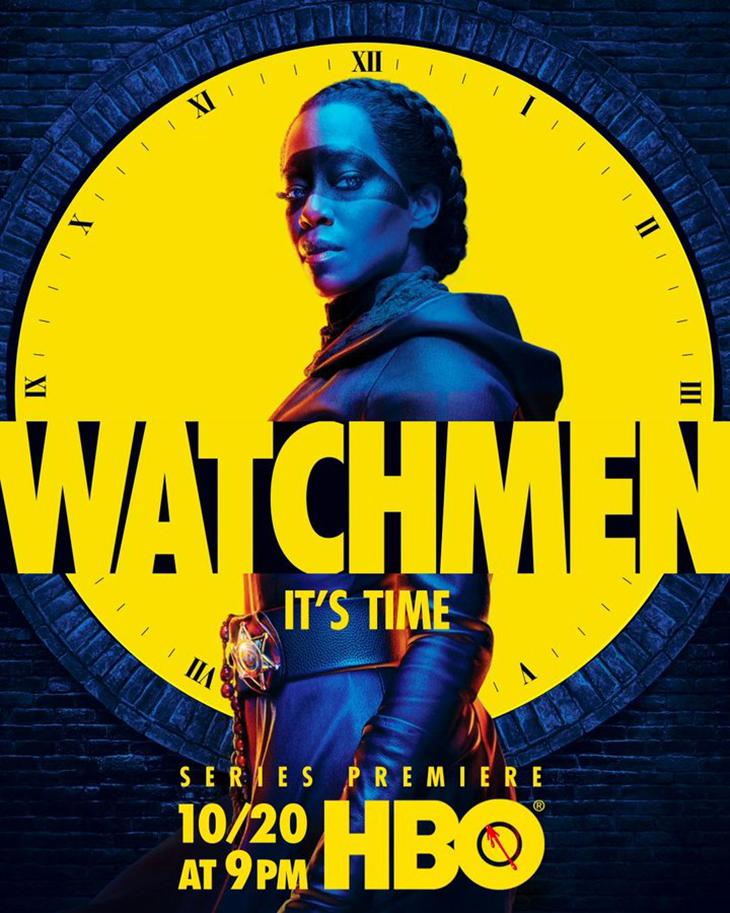 Key art for HBO's 'Watchmen'