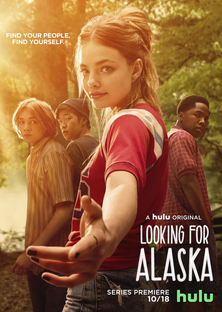 Key art for Hulu's 'Looking for Alaska'