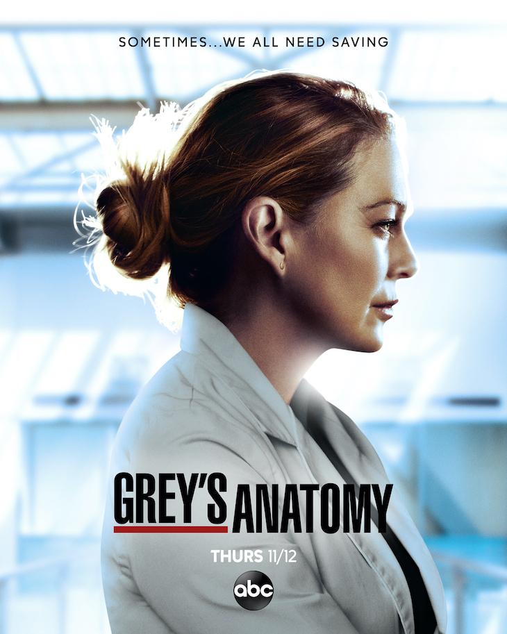 Key art for season 17 of ABC's 'Grey's Anatomy'