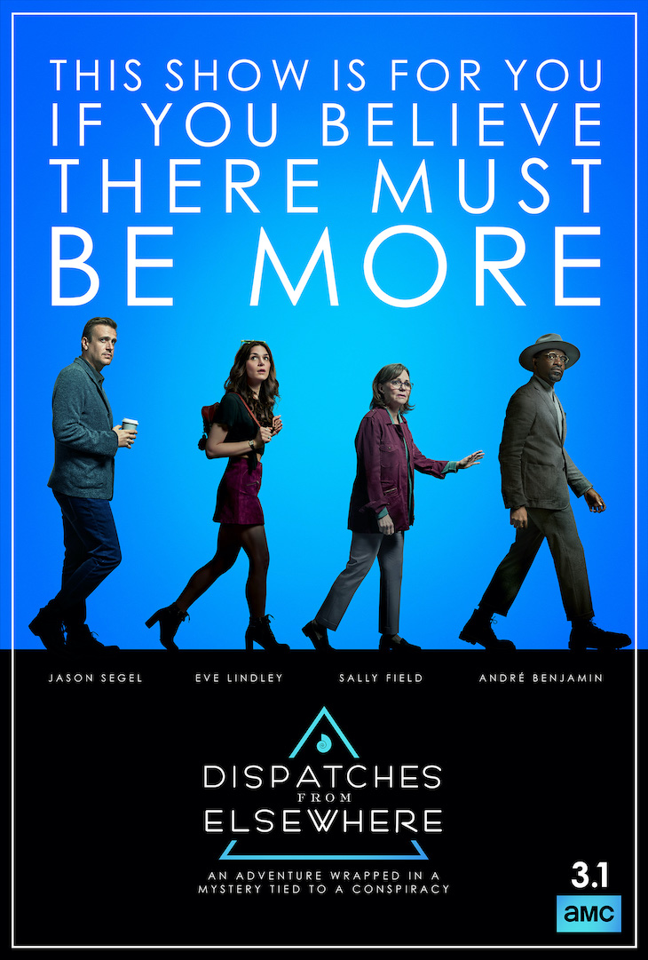 Key Art for AMC's 'Dispatches From Elsewhere'