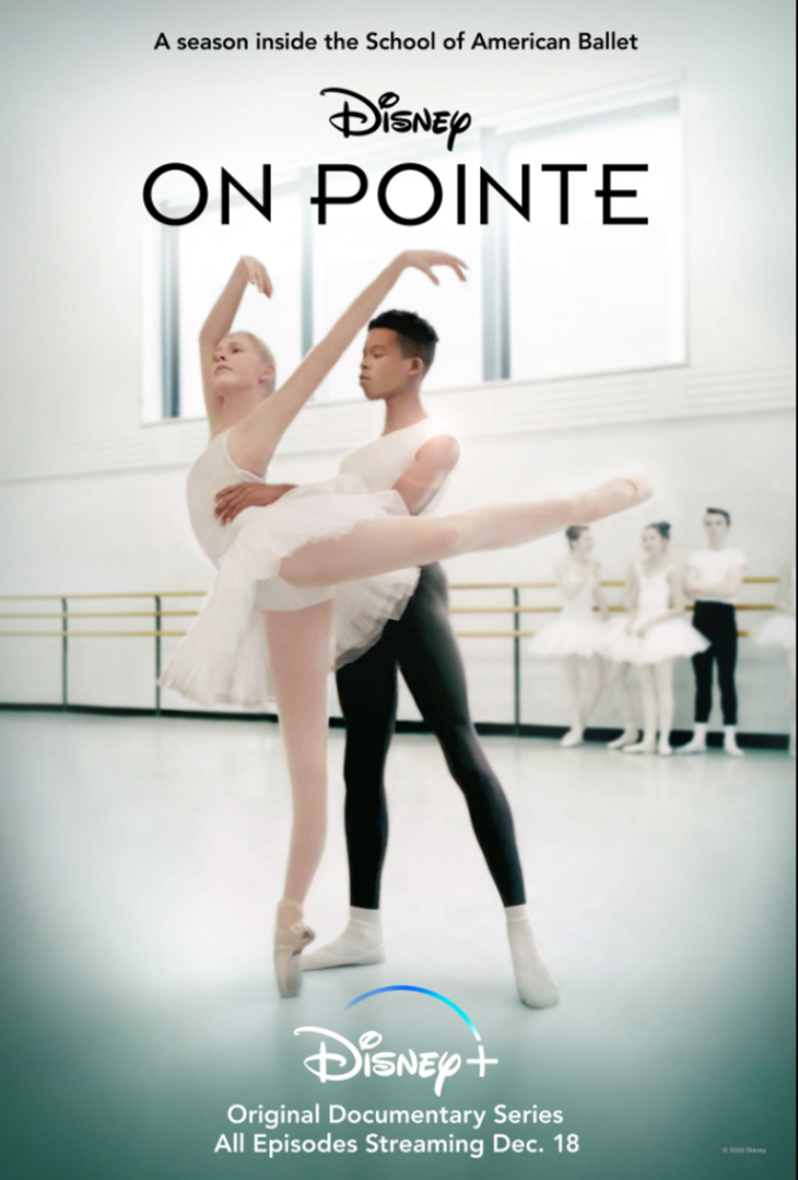 Key art for Disney+'s ballet docuseries 'On Pointe'