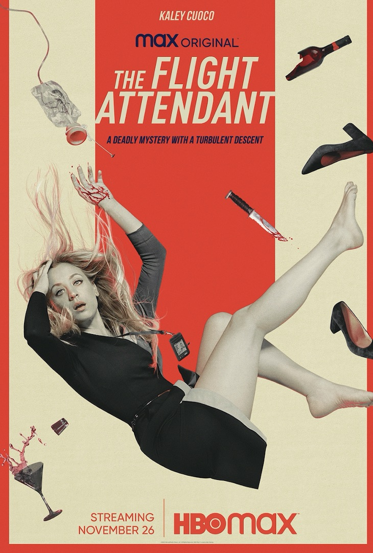 Key art for HBO Max's 'The Flight Attendant'