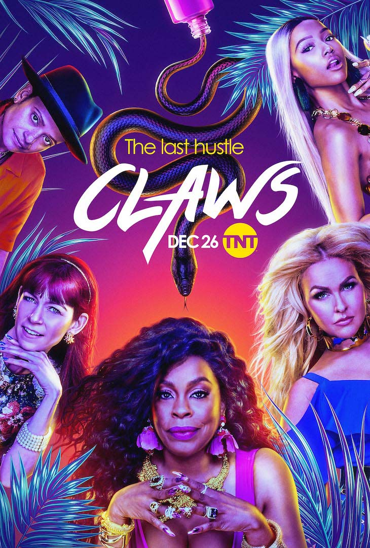 Key art for the fourth, final season of TNT's 'Claws.'