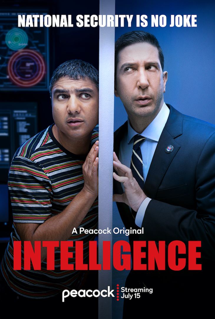 Key art for Peacock Original 'Intelligence'