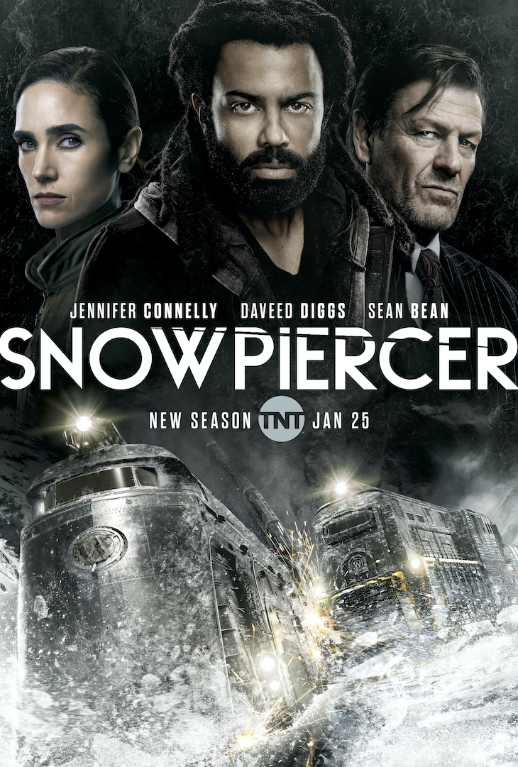 Key art for season 2 of TNT's 'Snowpiercer'