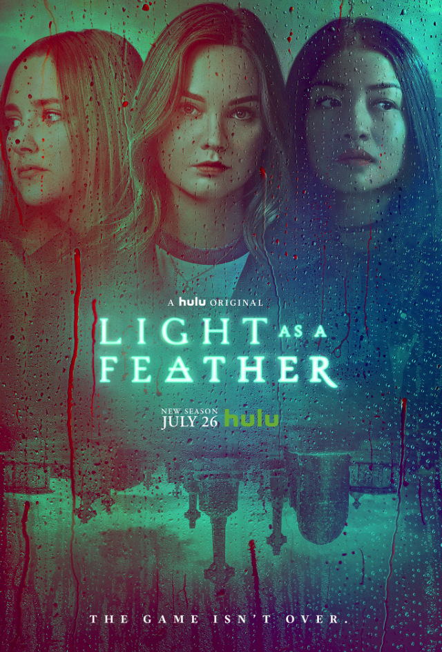'Light as a Feather' season 2 key art. [Hulu]