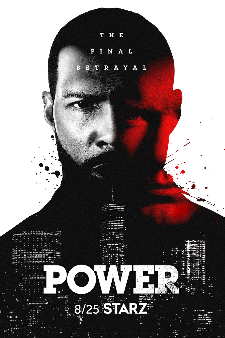 Key art for the sixth and final season of Starz' 'Power'