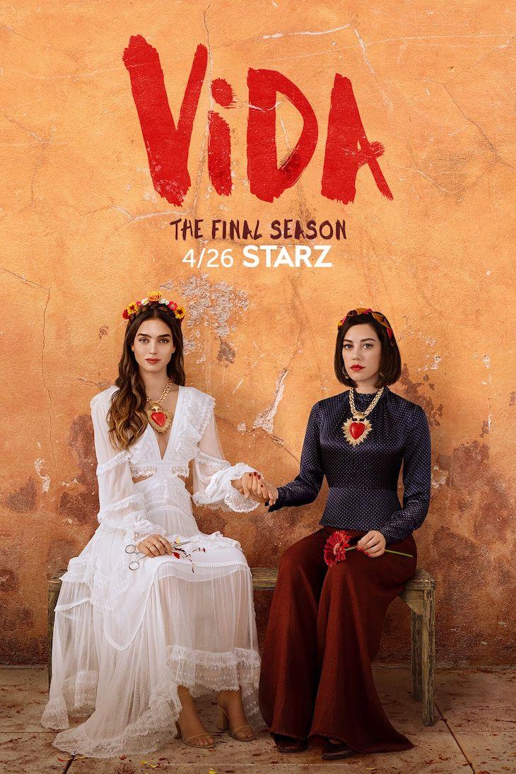 Season 3 key art for Starz 'Vida'