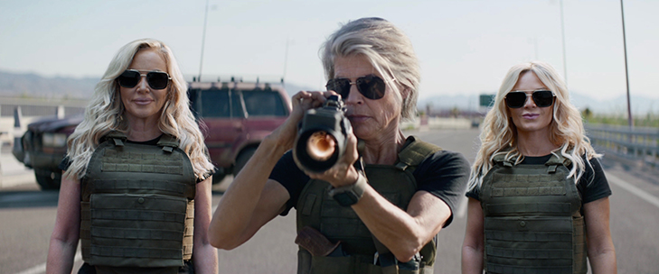 Terminator: Dark Fate / Real Housewives of Orange County Integration