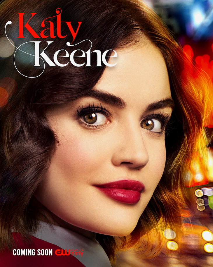 Key art for The CW's 'Katy Keene,' starring Lucy Hale