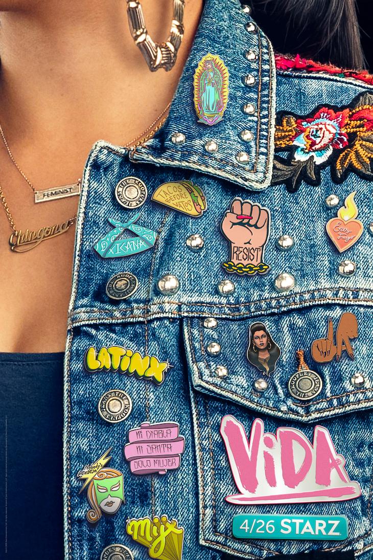 Season 3 key art for Starz' 'Vida'