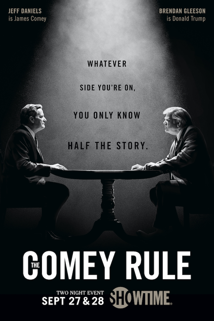 Key art for Showtime's 'The Comey Rule'