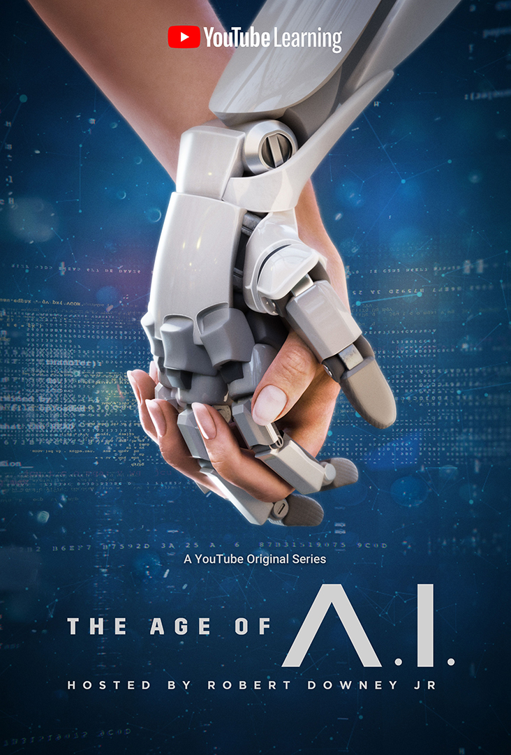 Key art for YouTube's 'The Age of A.I.'