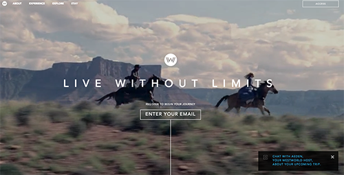 at first glance hbo s westworld microsite seems to be a website dedicated to allowing fans to feel as if they re about to book a real trip to the