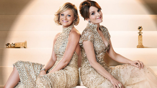 Amy Poehler and Tina Fey host the 72nd annual Golden Globes on Sunday, January 11, 2015, on NBC at 5 pm PT.