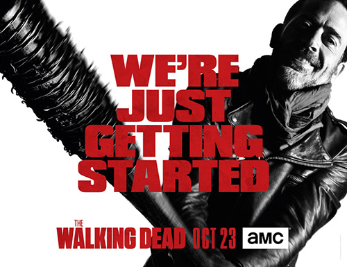 'The Walking Dead' season seven key art. (AMC)