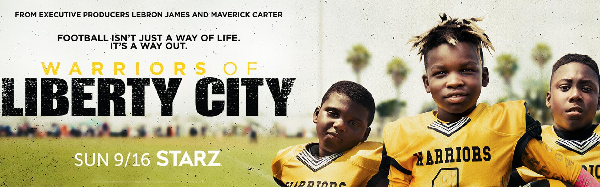 d4a15d0d5dc Starz Teases  Warriors of Liberty City  Youth Football Docuseries ...