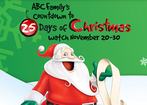 graphic relating to Abc Family 25 Days of Christmas Printable Schedule known as Limited Offers: The Vacations upon Tv set Promax Short