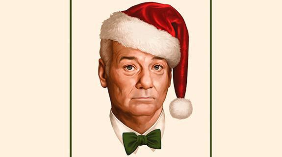 A Very Murray Christmas.Netflix Unveils Key Art For A Very Murray Christmas