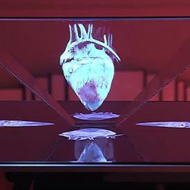 Holographic-tiv