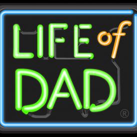 Lifeofdad 2-line wregisteredtrademark
