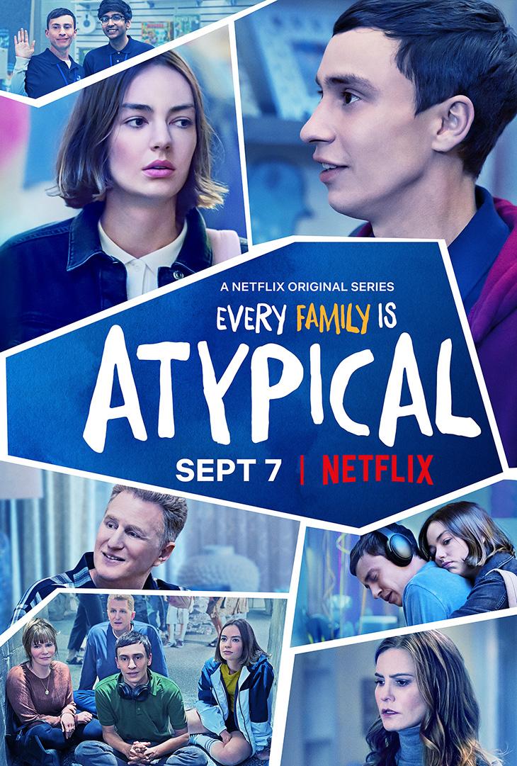 """Atypical"" season two key art. [Netflix]"
