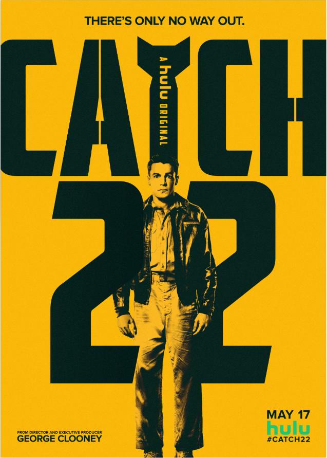 Key art for 'Catch-22' [Hulu].