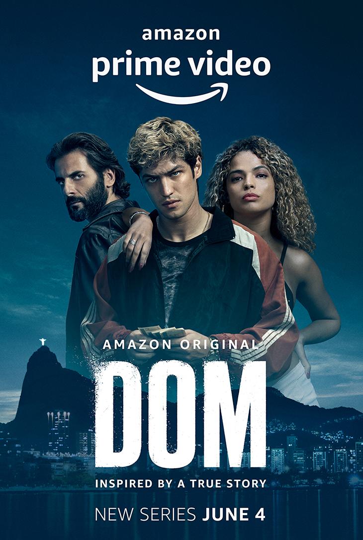Key art for Amazon Brazilian original drama 'Dom.'
