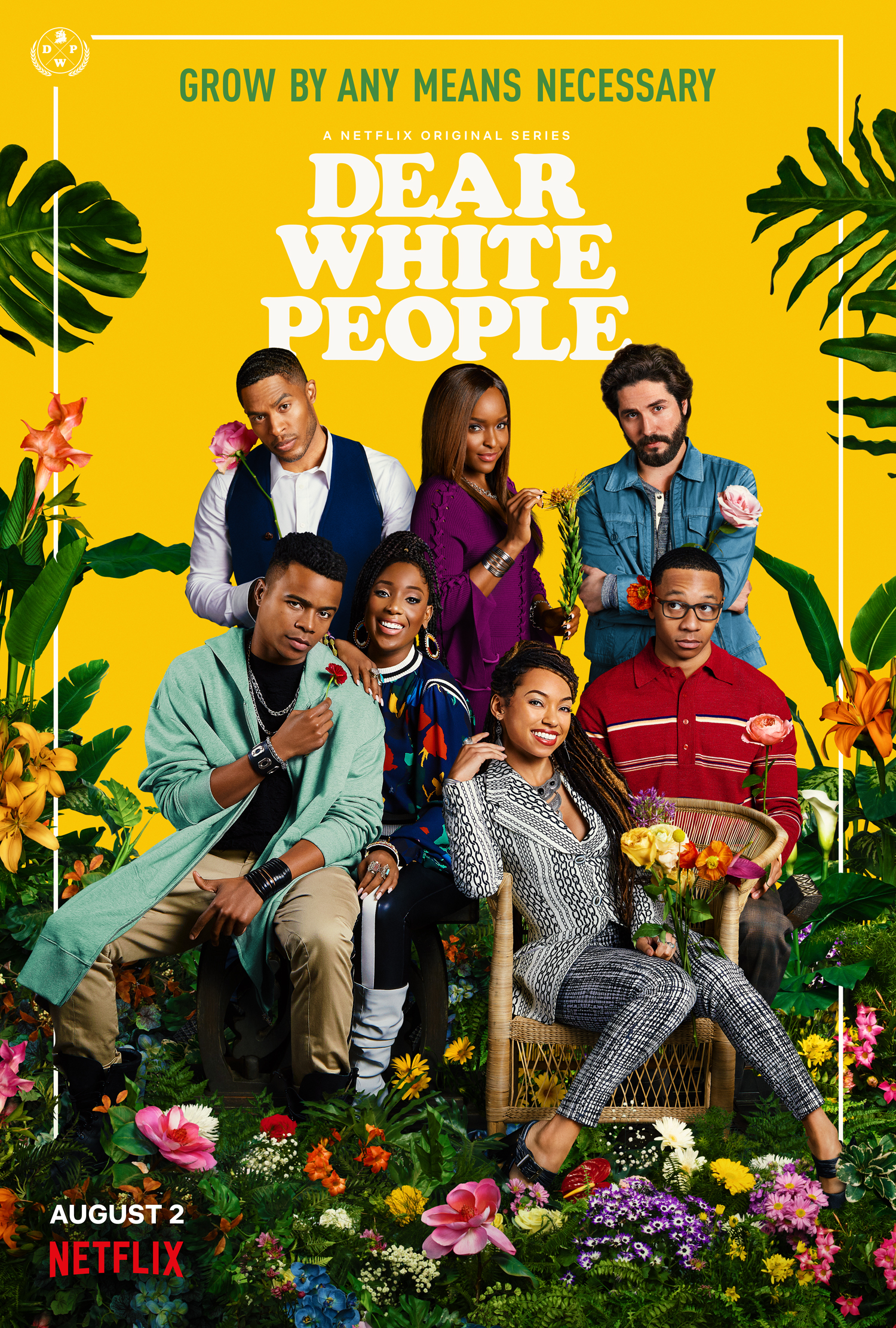 'Dear White People: Vol. 3' key art. [Netflix]