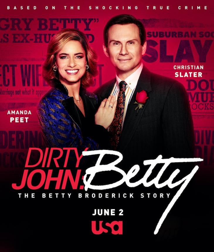 Key art for season 2 of USA's 'Dirty John'