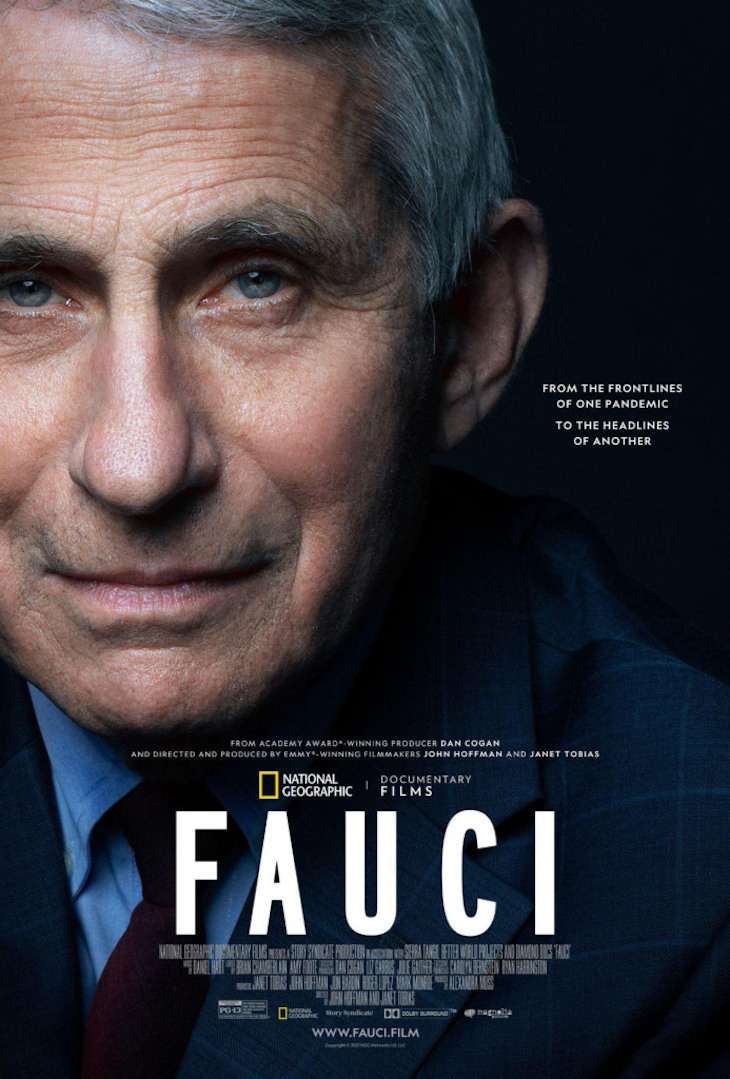 Poster for Nat Geo documentary 'Fauci.'