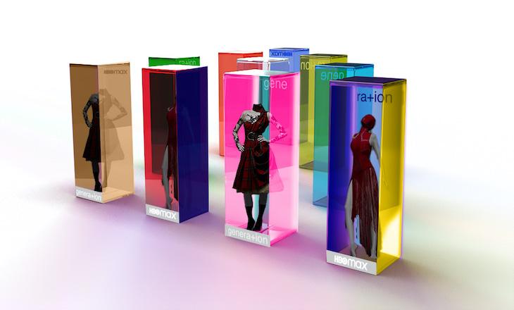 Artist's rendering of Un-Fashion Pop-Up Showcase