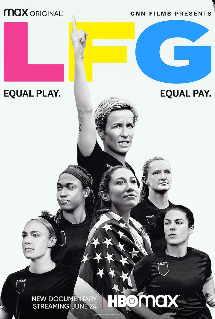 Key art for HBO Max's 'LFG'