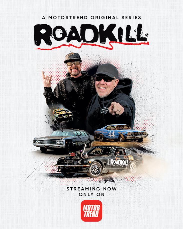Key art for 10th season of MotorTrend's 'Roadkill'