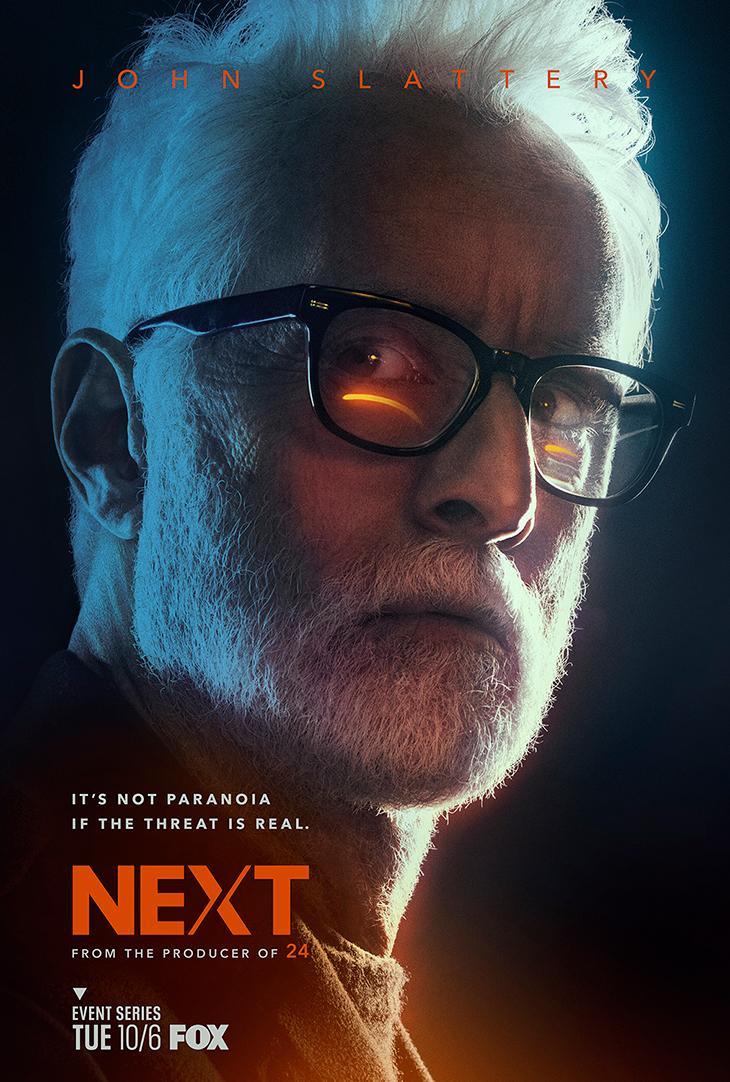 Key art for Fox's 'Next' starring John Slattery