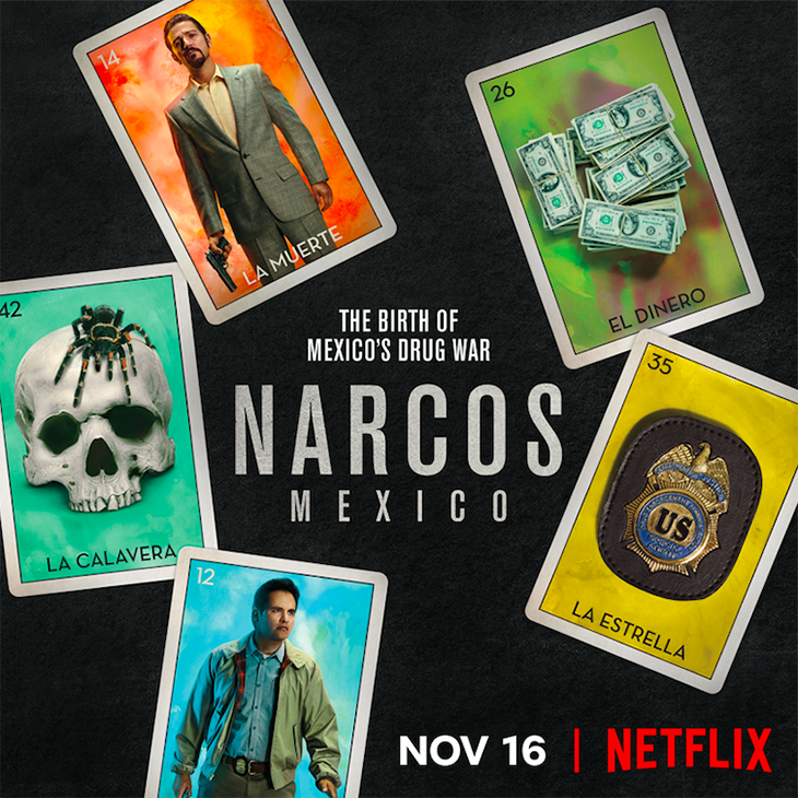 """Narcos: Mexico"" key art. [Netflix]"