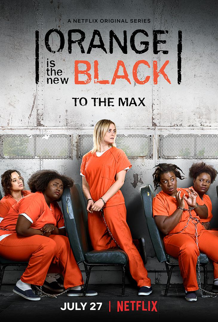 'Orange is the New Black' season 6 key art.
