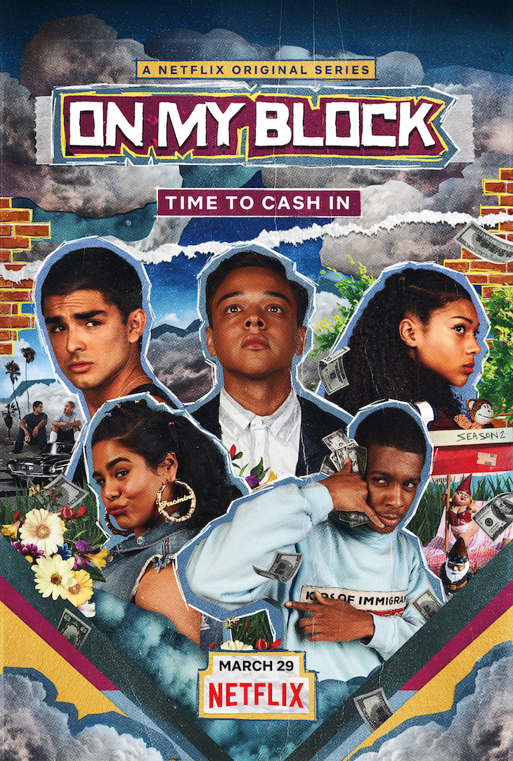 Key art for season two of Netflix's 'On My Block'