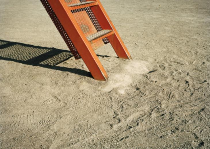 """Name: Orange Ladder, Tokyo Specs: 16 x 20"""" Medium: Archival Pigment Print Value: $800"""